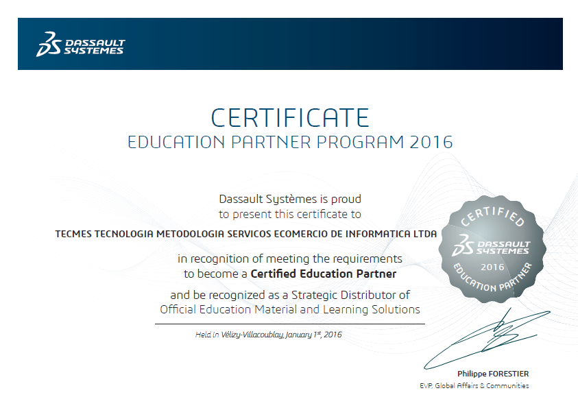 Education Partner 2016