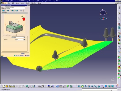 TREIN CATIA V5 - Multi-axis Surface Machining1